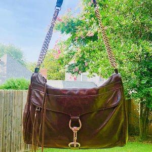 Rebecca Minkoff M.A.C. Leather Crossbody Chain Bag